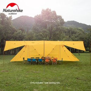 Wholesale Outdoor Camping D Twin Peaks A type Awning Rainproof Awning Tent NH17T015 M