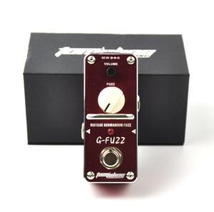 Aluminium Alloy Aroma AGF-3 Vintage Germanium Fuzz Guitar Effect Pedal