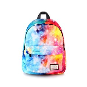 Wholesale Galaxy Backpack For Teenage Girls Boys Universal Star Bags Starry Night School Backpack Children School Bags Teen College Bag