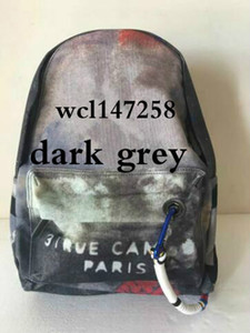 Wholesale yellow backpacks for sale - Group buy Travel Bags Graffiti Color Retro Shoulder Backpack Catwalk Women Casual Canvas Bag Classic Doodle Limited Edition Bags