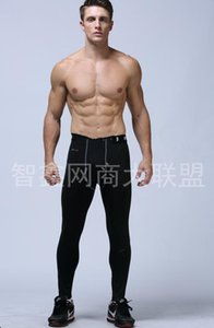 Wholesale Original men NK pro combat Athletic skinny compression Basketball training legging run gym track sport tight pants fitness