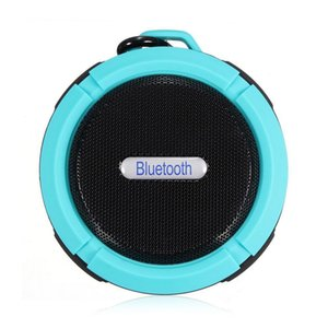 Wholesale C6 Bluetooth Speaker Portable Stereo Outdoor Soundbar With Wireless Handsfree Bass Life Waterproof Loudspeaker For phone