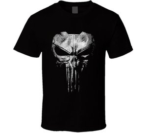 New The Punisher Daredevil T Shirt Jon Bernthal Frank Castle Big Skull Fan Gift