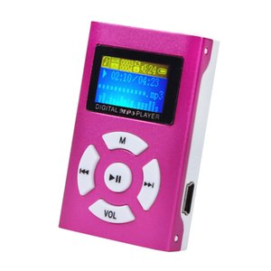 Top Selling USB Mini MP3 Player LCD Screen reproductor mp3 Music Player Support 32GB Micro SD TF Card #ET1 on Sale