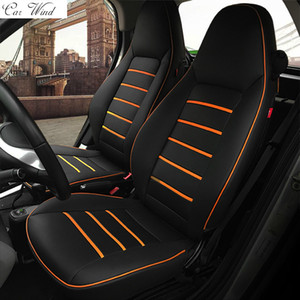 Wholesale car wind pu leather car seat covers for Smart fortwo Smart forfour seat covers for accessories