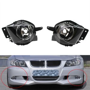 Wholesale For BMW E90 3-Serise 2006 2007 2008 Auto Fog Lamp Car Front Bumper Grille Driving Fog Lights 63176948373 63176948374