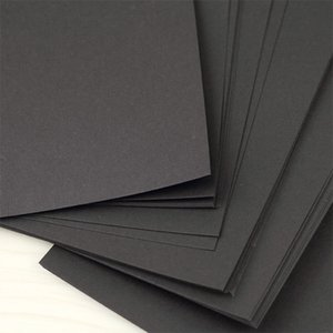 Wholesale Harphia Notebook A6 A5 Black Refill sheets Inner paper g quality card pages Hard Paper blank black