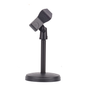 Wholesale New Universal clamp Portable Desktop Table Microphone Clamp Clip MIC Stand Holder for Computer Conference Studios Microphone