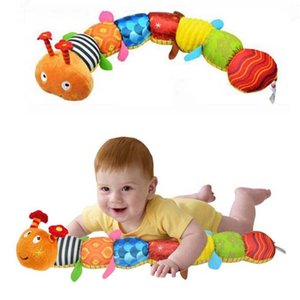 Recommend Cloth multifunctional educational children toys Baby rattles of music hand puppets animals for kids on Sale