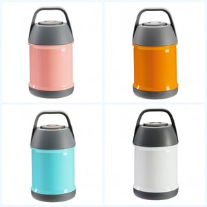 Wholesale Stainless Steel Lunch Thermos Mug Portable Outdoors Vacuum Cup Double Deck Heat Preservation Insulated Thermal Bottle Creative xz jj