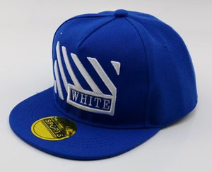 Fashion Embroidery Striped Baseball Cap hip-hop Cap Adjustable Snapback Hats for Kids