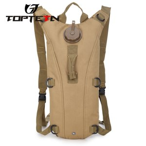TOPTETN Camouflage Rucksack Tactical Backpac3L Army Cycling Waterbag Backpack Riding Bag De Sport Bags on Sale