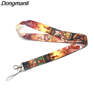 Wholesale P2287 Dongmanli Over the Garden Wall keychain ID Card Pass Gym Mobile Phone Badge Lanyard key holder