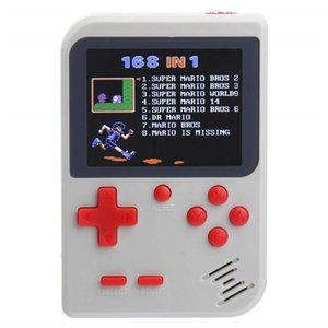 Wholesale 2018 New Mini Handheld Game Console Retro Game Console Inch Screen Classic Pocket Game Player TV Output Portable Video Games Console