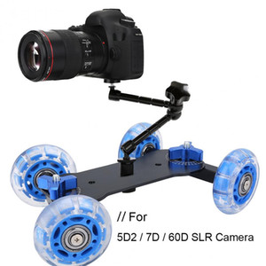Wholesale 2 Colors Camera Rail Car Stabilizer Desktop Table Dolly for Canon DII D D SLR Camera