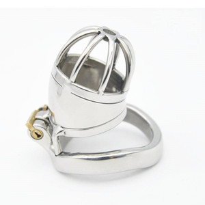 FREE SHIPPING!!!, Stainless Steel Stealth Lock Male Chastity Device,Cock Cage,Virginity Lock,Penis Lock,Cock Ring,Chastity Belt SN277