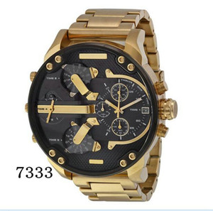 Wholesale Sports Mens Watches Big Dial Display Top Brand Luxury watch Quartz Watch Steel Band Fashion Wristwatches For Men