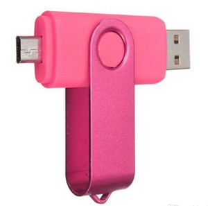 64GB TOTATE OTG USB Swivel USB 2.0 Flash Drives Memory Stick for Android Smartphones Tablets Thumbdrives