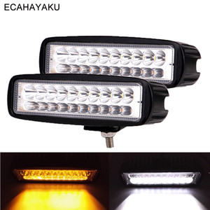 Wholesale 20Pcs ECAHAYAKU Auto Car Working Lights LM Inch W LED Bar work Ligh Spotlight V for Boating Hunting Fishing