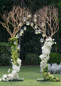 Wholesale Eco Friendly mm Transparent Acrylic Ball Wedding Party Layout Decorations Road Lead Arch Flore Hanging Ornaments Part Home