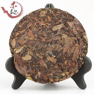 300g Chinese Fujian Fuding White Shoumei Lao Bai Cha Wild Old White Tea Cake Natural Health Care