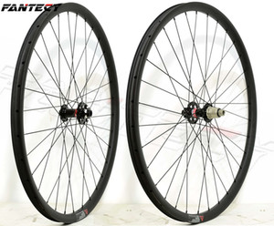 Wholesale wheel carbon racing resale online - FANTECY ER MTB XC racing carbon wheels Hookless mm width mm depth tubuless mountain bike carbon wheelset UD matte finishing
