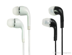 Wholesale S4 S6 j5 Stereo Headsets In Ear Earphone with Mic and volume control Headphones for Samsung Galaxy Universal for Android phones iphone pc