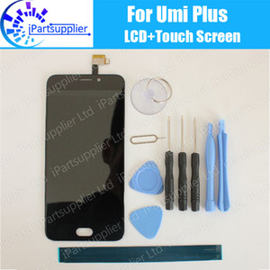 Umi Plus LCD Display with Touch Screen Assembly 100% Original LCD Digitizer Glass Panel Replacement For Umi Plus Phone+Gifts