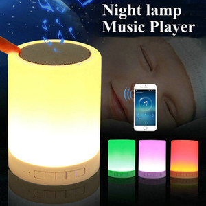 Wholesale LED Baby Night Light Novelty Kids Night Lamp Girl Boy Gift USB Sensor with Bluetooth Music Children Room Toys Table Lamps