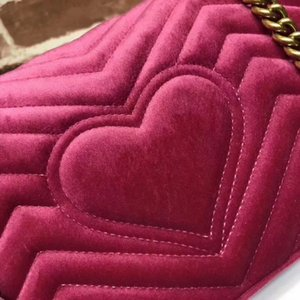 2021 NEW ARRIVED shoulder handbags women bags designer small messenger Velour bags feminina velvet girl bag come with box , two size
