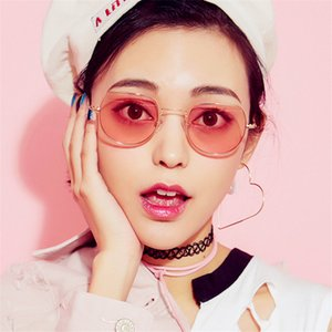 CURTAIN Oculos Feminino European American Trending Square Sunglasses Small Box Retro Marine Film Fashion Transparent Sun Glasses