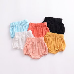 Wholesale New Arrival Baby Shorts Cotton Baby Clothes Cute Baby Diaper Cover Fashion Infant Bread Pant Shorts