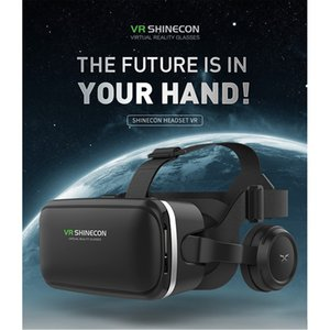 Wholesale HL VR AR Glasses D Glasses Vritual Reality Shinecon Headset VR universal D Box For iphone With Controller dec12
