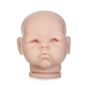 Free Shipping Hotsale Doll Kit Wholesale reborn doll kit 22inch unpainted doll parts Realistic Reborn Baby Juguetes 1719 Kid Toy on Sale