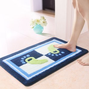 Wholesale high quality bath rugs for sale - Group buy High Quality Comfortable Bath Carpet Pads to the Bathroom cm Bathroom Mat Rugs Toilet Mats Doormat Living Room Rug Kitchen Mat Foot Pad