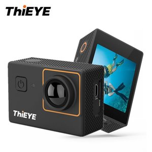 Wholesale i30 K Waterproof Action Camera WiFi Full HD p Outdoor Sport Video Camera MP Full HD inch Screen Underwater Cam