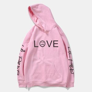 Wholesale Lil Peep Love Hoodies Men Women Sweatshirts Hooded Pullover Casual Women Homme Harajuku Fashion Tracksuit Rapper Hoody