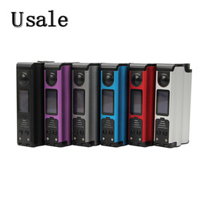 Wholesale Dovpo Topside Squonk Mod W TC Box with inch OLED Screen ml Bottle Original