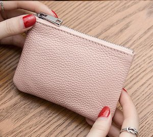 Wholesale New designer Tote wallet High Quality Leather Men short Wallets for women Men Coin purse Clutch Bags with box