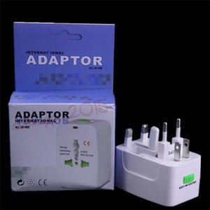 Wholesale Universal International Travel World Wall Charger AC Power Adapter with AU US UK EU Plug All in One DC Power Socket Charger Adaptors