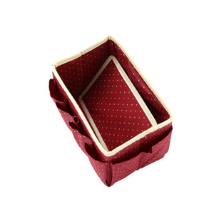 Wholesale jewelry organizations for sale - Group buy High Quality New Home Storage Box Desk Organizer Folding Office Desk Storage Organization Jewelry Cosmetic Makeup Box
