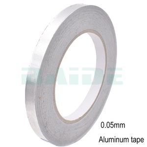 Wholesale heating tapes resale online - 30 mm Aluminium Foil Adhesive Sealing Duct Tape Heat Resist High Temperature Resistant Foil Single Side Adhesive Tape