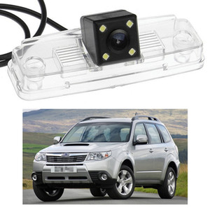 New 4 LED Car Rear View Camera Reverse Backup CCD fit for Subaru Forester 2009-2013 10 11 12