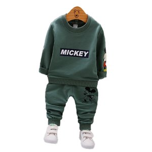 Wholesale Autumn Baby Clothing Sets Child Boy Clothes Suits Coat Pants Cotton Boy Suits for Girl Children Clothing Sets Track