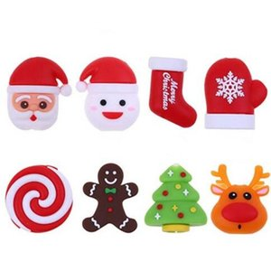 Wholesale Christmas Cute Animal Bites Cartoon USB Data Cable Charger Earphone Protector for Iphone Cable Winder Cord Organizer Wire Saver