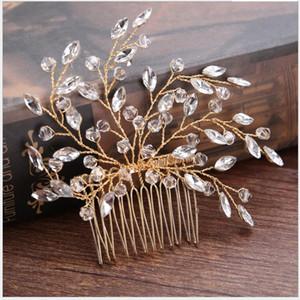 Hairstyles Hair Combs Wedding Hair Accessories Crystal Bandeau Cheveux Femme Accesorios Coroa De Princesa Flower Headwear New Wholesale
