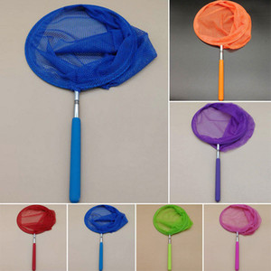 Wholesale Insect Net Child Telescopic Folding Fish And Butterfly Net Easy To Carry Handle Toy For Kids Extendable