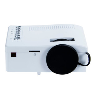 Wholesale New UC18 Mini projector phone hd P video portable projectors HDMI TF Card USB CVBS LED for Home theater Cinema
