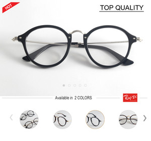 2018 brand designer Round Glasses Men Women's cool frame plank Eyewear vintage Female Optics Eyeglasses Clear Lens retro circle spectacle