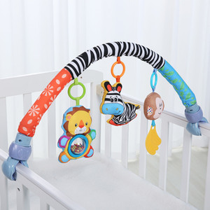 Wholesale Baby Bed Bumper Around Cot Stroller Crib Accessories Infant Music Bedding Set Toys Factory Price Sale Order Free Ship